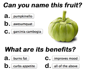 Name This Fruit and its Benefits - Garcinia Cambogia