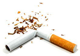 Smoking may cause emphysema