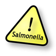 Caution with salmonella