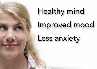 Improve Mood, Less Anxiety