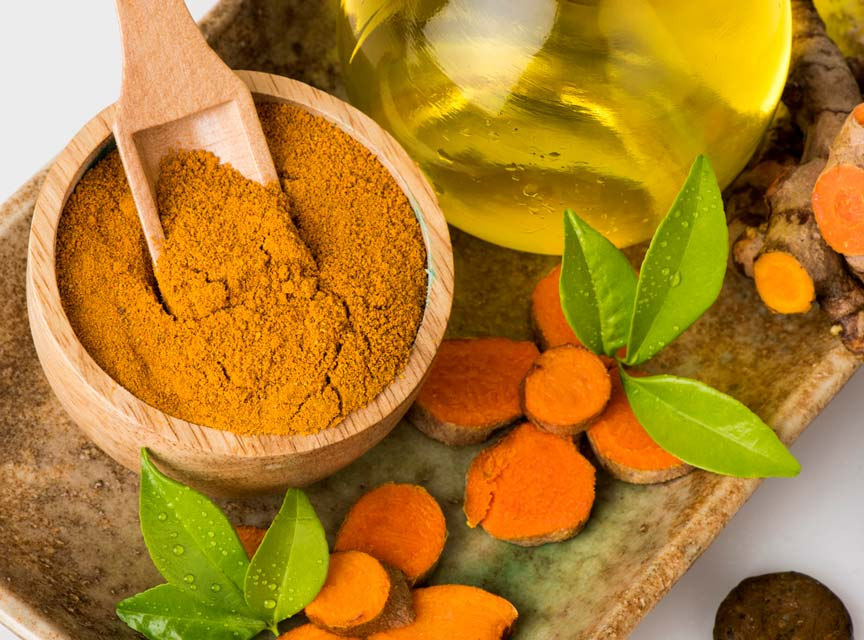 Turmerone compounds in the essential oil of turmeric give turmeric it's pungent smell.